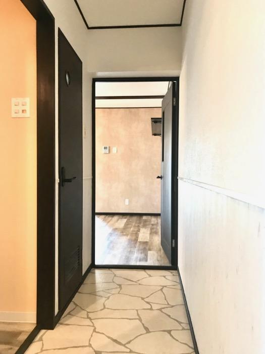 玄関廊下。キャッスルハイツ師勝305号室0