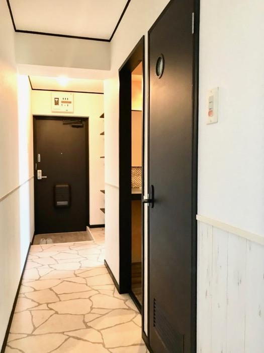 玄関廊下。 キャッスルハイツ師勝305号室2