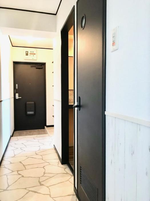 玄関廊下。 キャッスルハイツ師勝305号室1