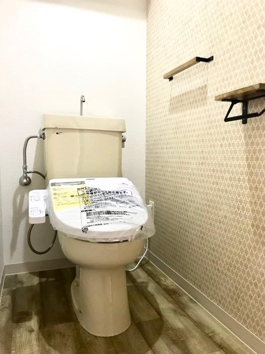トイレ。 キャッスルハイツ師勝305号室5