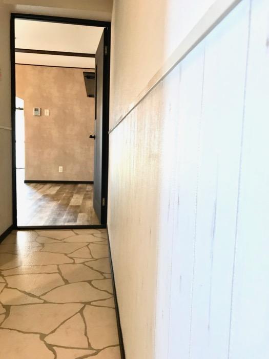 玄関廊下。キャッスルハイツ師勝305号室1