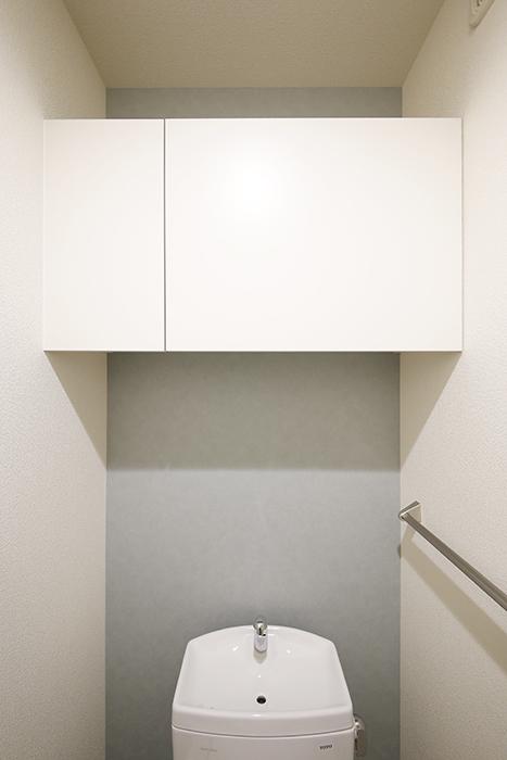勝川【Parfum(パルファン)】101号室_トイレ_頭上の収納棚_MG_4347