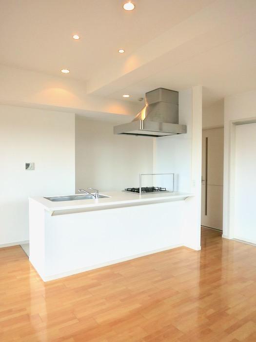 LDK11帖。 おしゃれなキッチンのある暮らし。 Hermmitage SHINSAKAE エルミタージュ新栄 1005号室 13