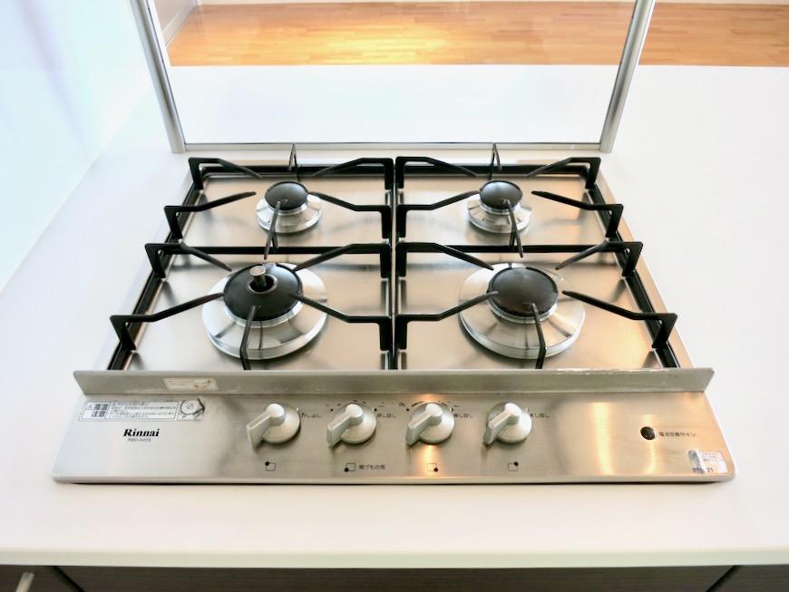 LDK11帖。キッチン台 おしゃれなキッチンのある暮らし。 Hermmitage SHINSAKAE エルミタージュ新栄 1005号室 1