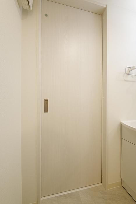 西尾市【モフズヴィラ(Mofz Villa Imagawa)】106号室_サニタリールーム_トイレへのドア_MG_6064