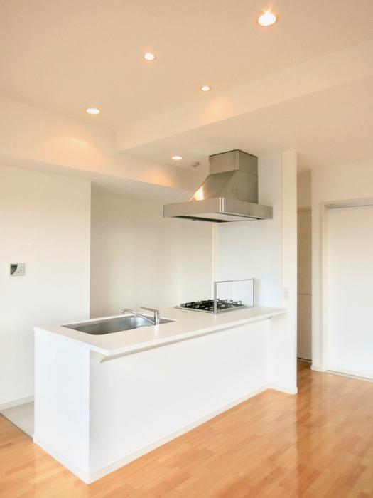 LDK11帖。 おしゃれなキッチンのある暮らし。 Hermmitage SHINSAKAE エルミタージュ新栄 1005号室 15