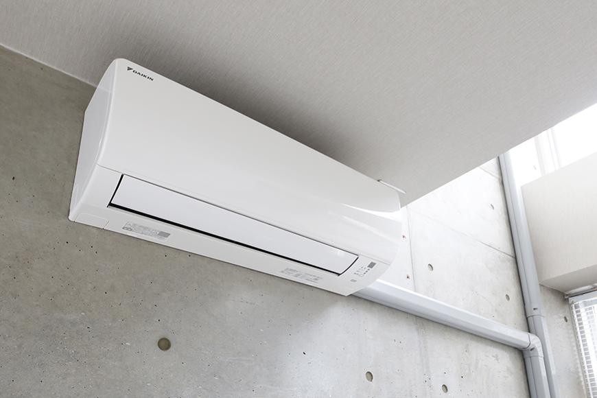 【M/F HOUSE】008号室_LDK_リビング_エアコン完備_MG_3390