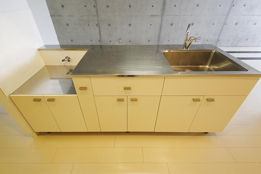 【M/F HOUSE】001号室_LDK_キッチン_全景_MG_2851
