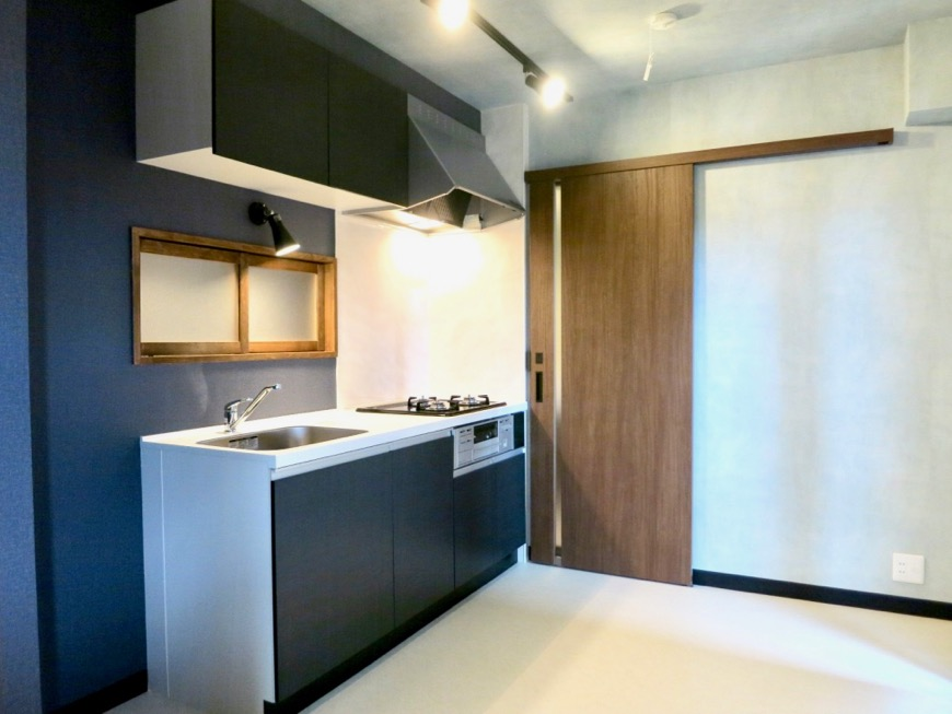 キッチン 和モダン漂う空間 グリーンハイツ0