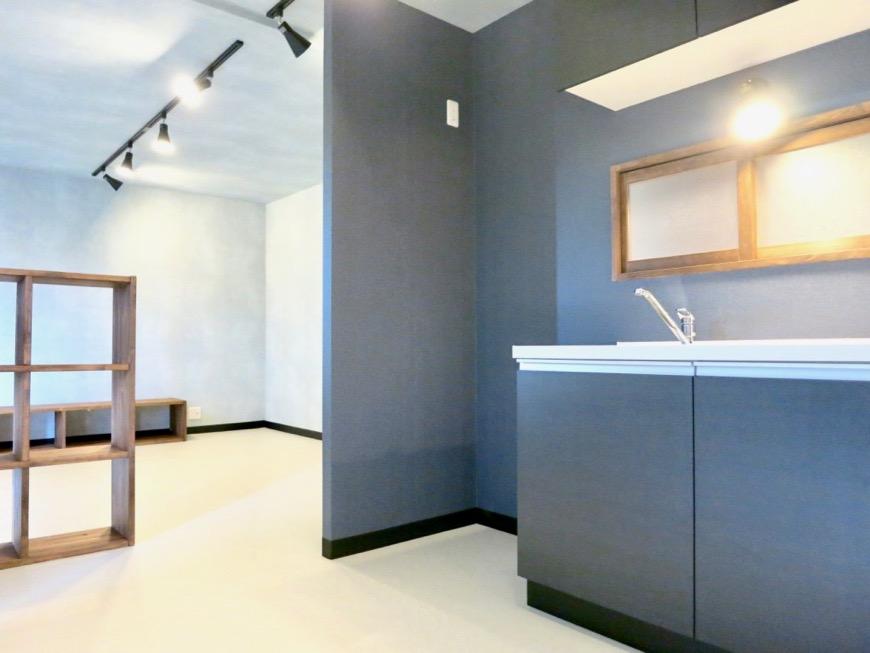 キッチン モダン町屋のような空間 グリーンハイツ11