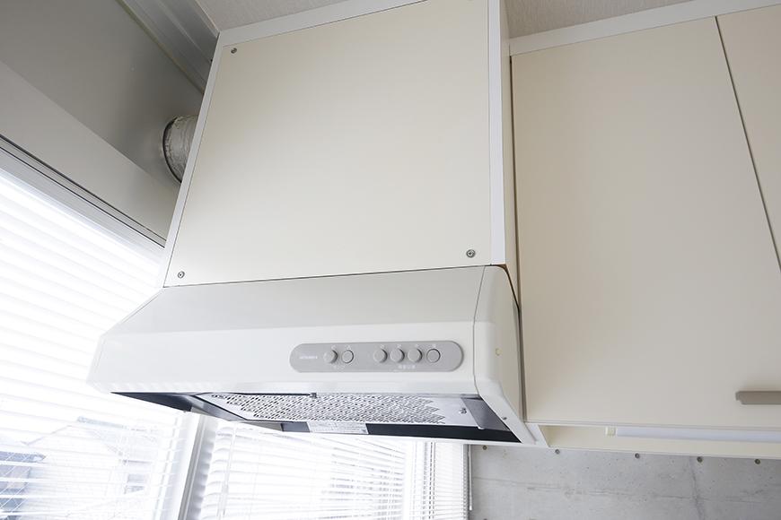 【M/F HOUSE】008号室_LDK_キッチン_レンジフード_MG_3309