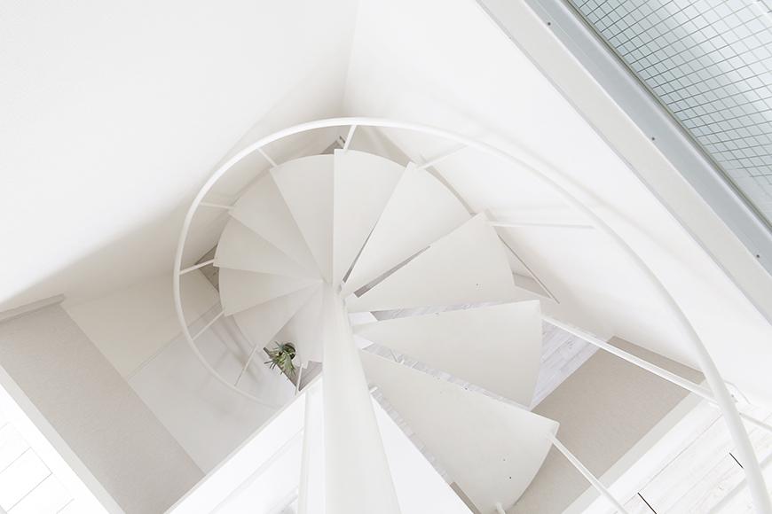 【M/F HOUSE】008号室_LDKと上階の洋室をつなぐのは螺旋階段_MG_3628