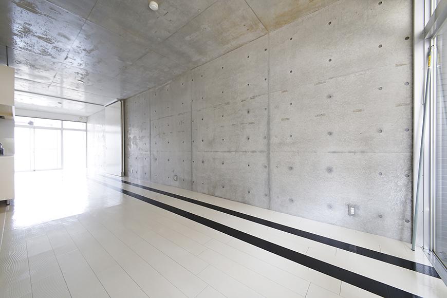 【M/F HOUSE】001号室_LDKと洋室の仕切りドアをOPEN_MG_3011