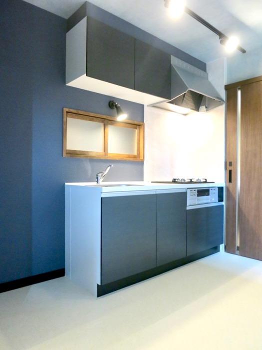 キッチン 和モダン漂う空間 グリーンハイツ5