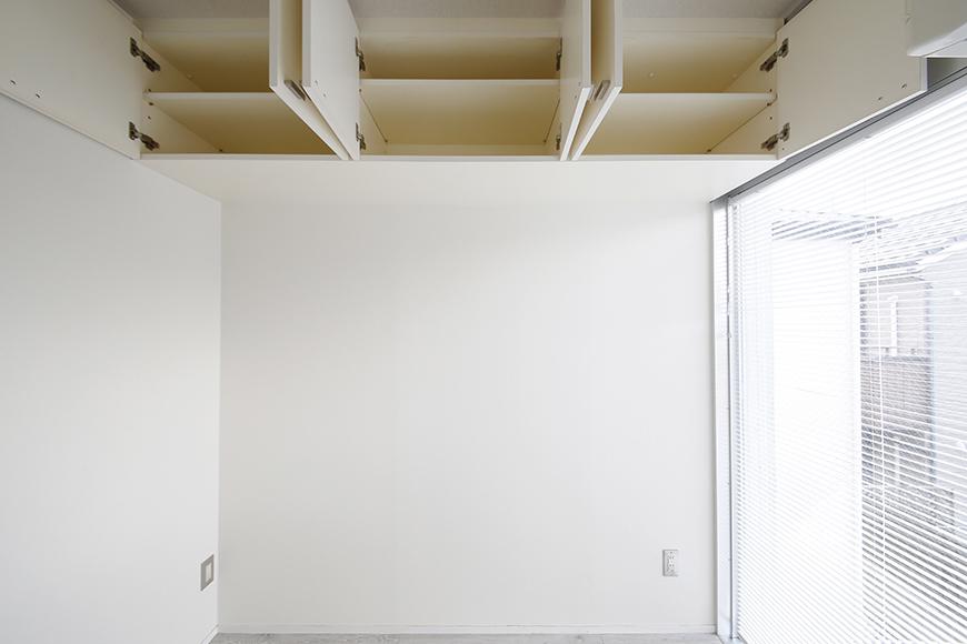 【M/F HOUSE】008号室_LDK_キッチン_背後の頭上収納_MG_3316