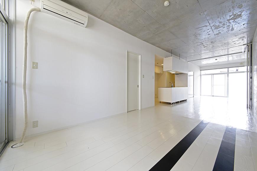 【M/F HOUSE】001号室_LDKと洋室の仕切りドアをOPEN_MG_3006