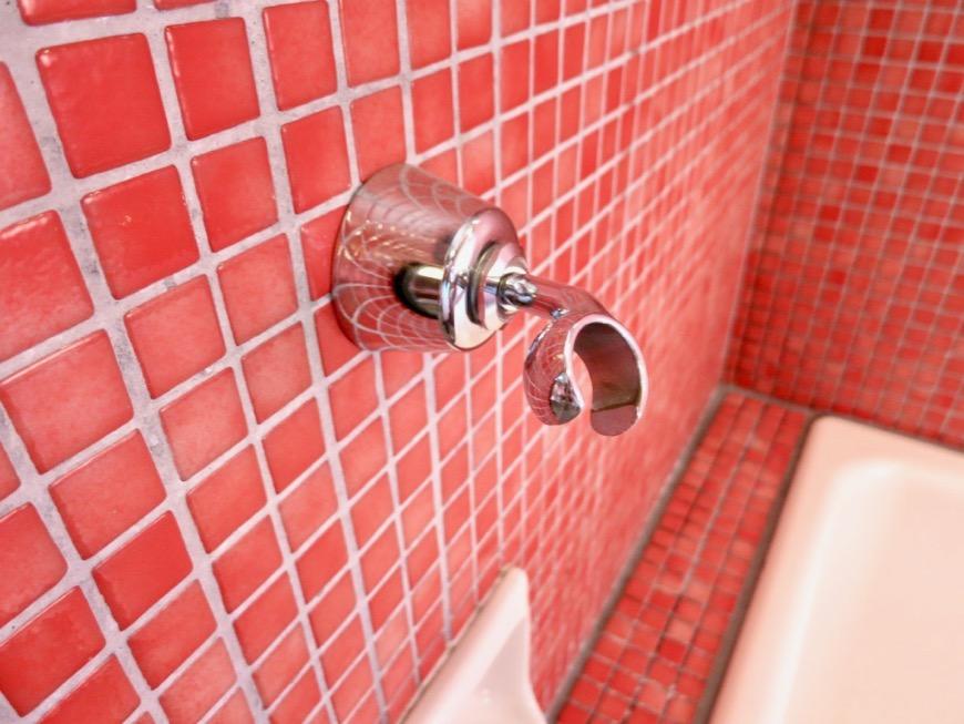バスルーム&トイレ。鮮やかでお洒落なモザイクタイル貼りのバスルーム&トイレ。ARK HOUSE 南館 3A 何もかもが魅力的な創造空間。16