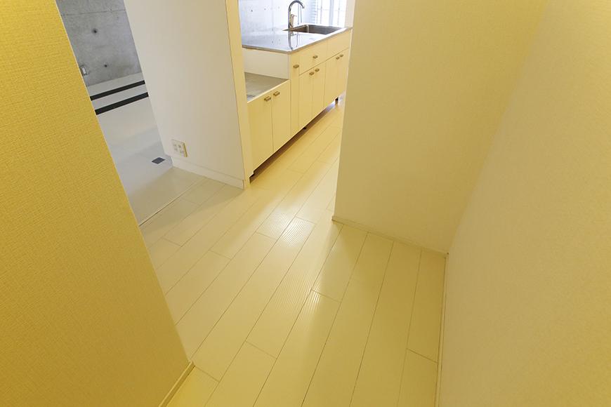 【M/F HOUSE】001号室_廊下からLDKへ_MG_2798