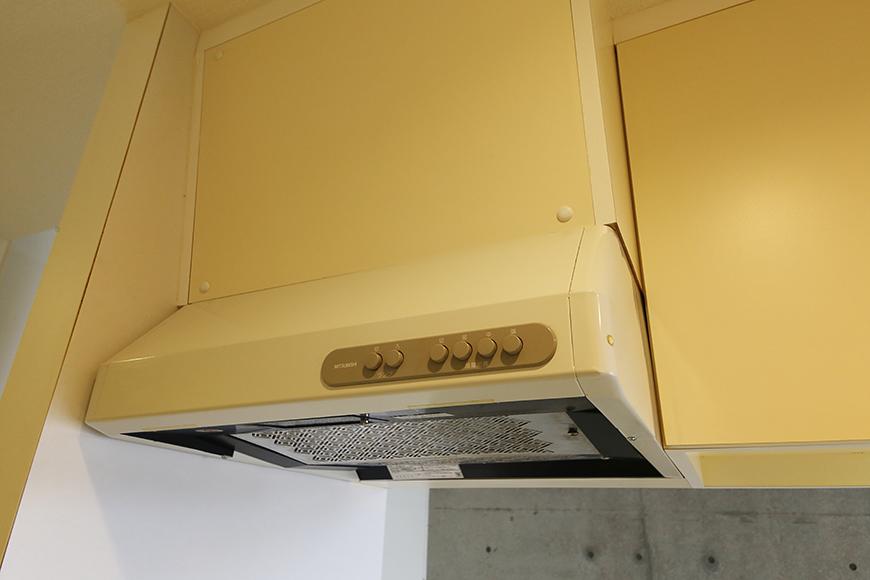 【M/F HOUSE】001号室_LDK_キッチン_レンジフード_MG_2887