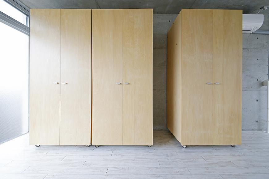 【M/F HOUSE】008号室_洋室_可動式のクローゼット収納_MG_3514