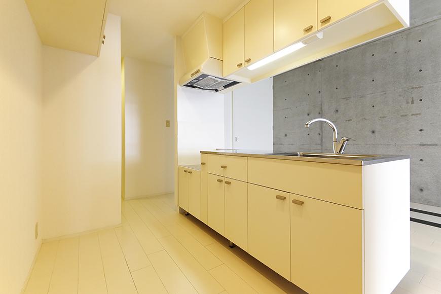 【M/F HOUSE】001号室_LDK_キッチン_全景_MG_2870