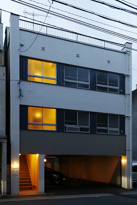 【DRAFT HOUSE】外観_夜間_MG_8521