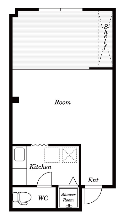 DRAFT HOUSE A棟-203
