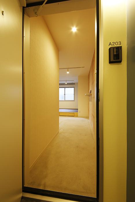【DRAFT HOUSE】A203号室_玄関ドアをOPEN!_MG_8325
