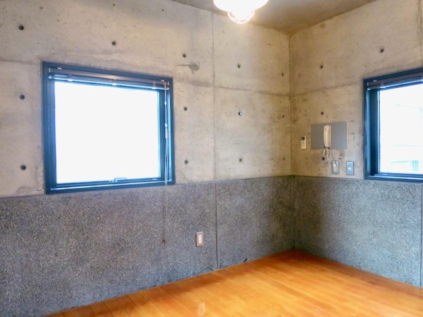 5帖の洋室 コンクリートハウス 風か吹き抜ける美しい要塞。218 HOUSE 2D号室8