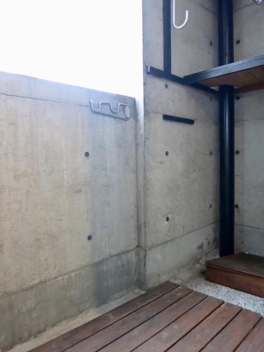 バルコニー コンクリートハウス 風か吹き抜ける美しい要塞。218 HOUSE 2D号室0