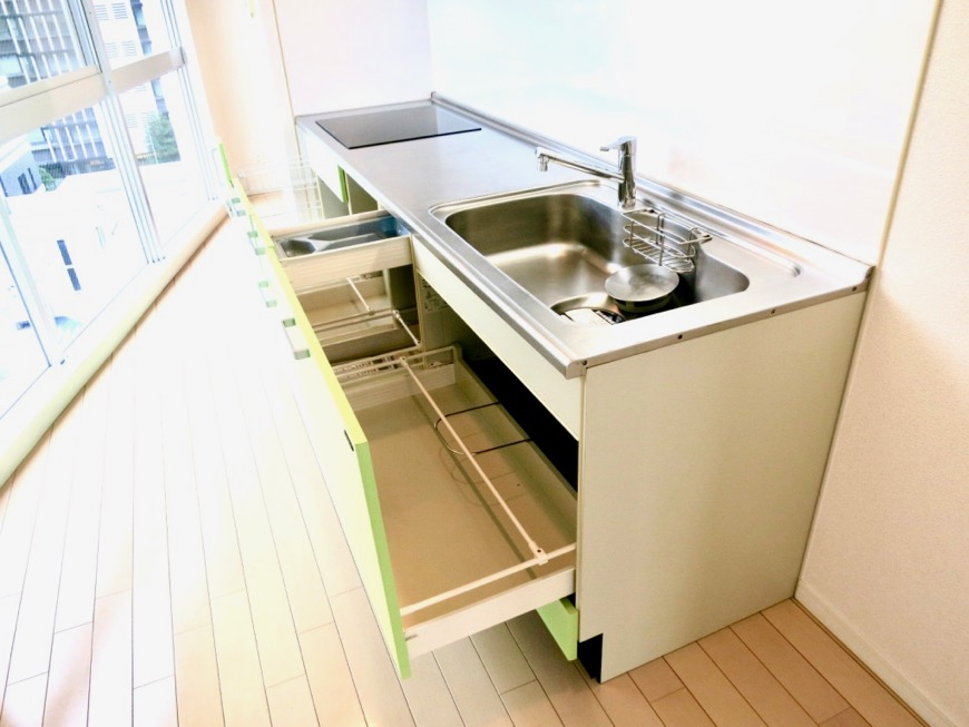 キッチン ペット可。レジディア東桜Ⅱ 901号室5