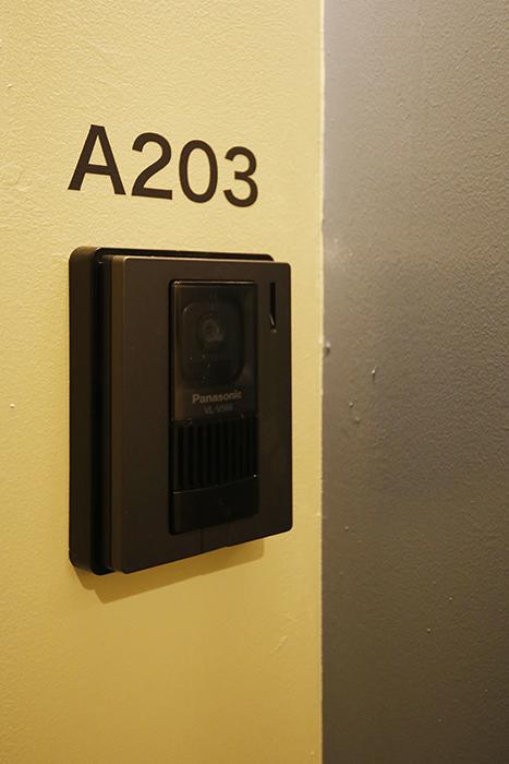 【DRAFT HOUSE】A203号室_玄関周り_TVモニタ付きインターフォン_MG_8497