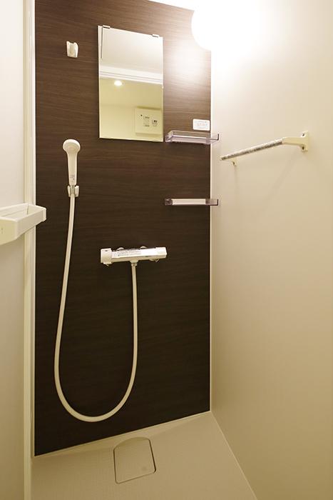 【DRAFT HOUSE】A203号室_水周り_シャワールーム_MG_8438