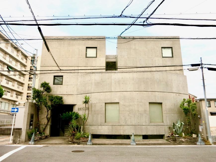 外観・共用 コンクリートハウス 風か吹き抜ける美しい要塞。218 HOUSE 2D号室0