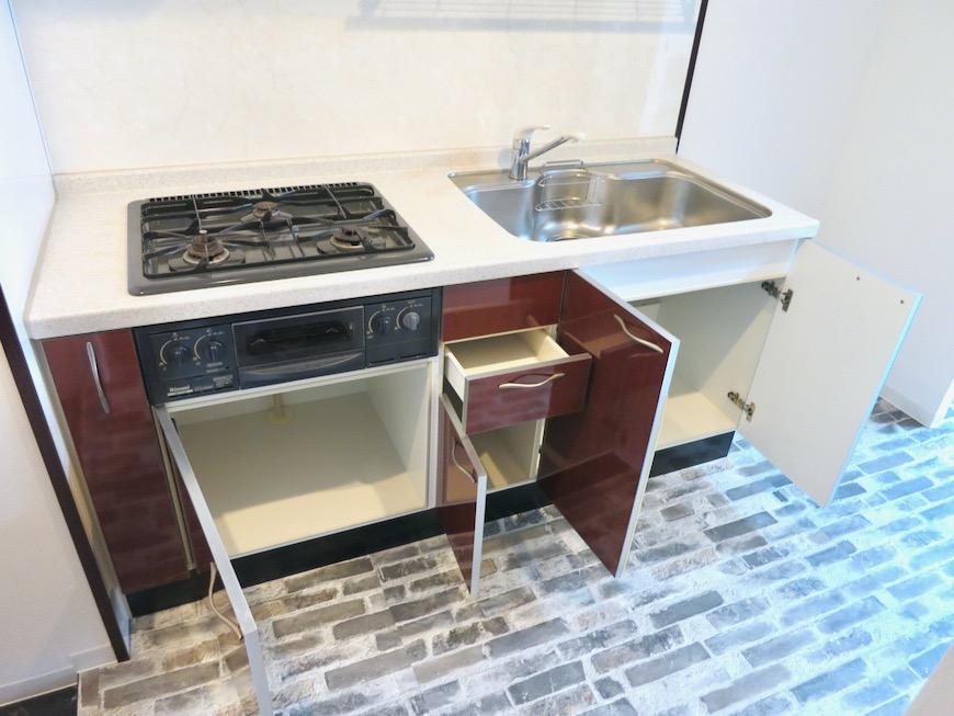 キッチンほんのりアンティークヨーロピアン サロン・SOHO可 S ALLEY 1001号室6