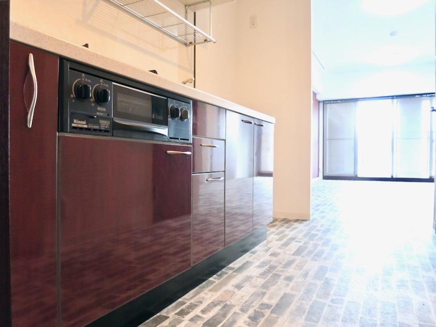 キッチンほんのりアンティークヨーロピアン サロン・SOHO可 S ALLEY 1001号室0