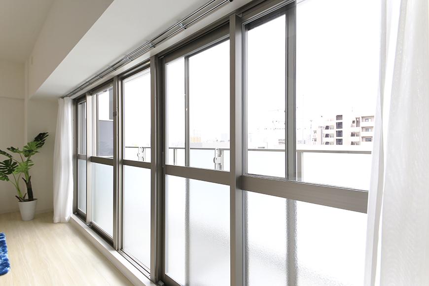 【ポルタニグラ大須】1101号室_LDK_リビング_大きくとられた窓_MG_8950