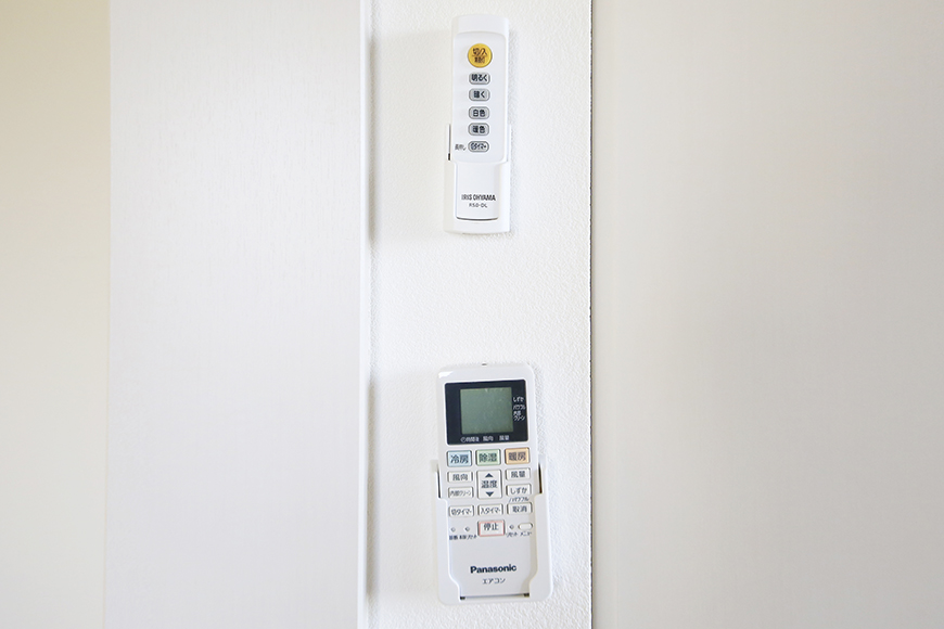 【ポルタニグラ大須】901号室_洋室_エアコン・照明のリモコン_MG_3658