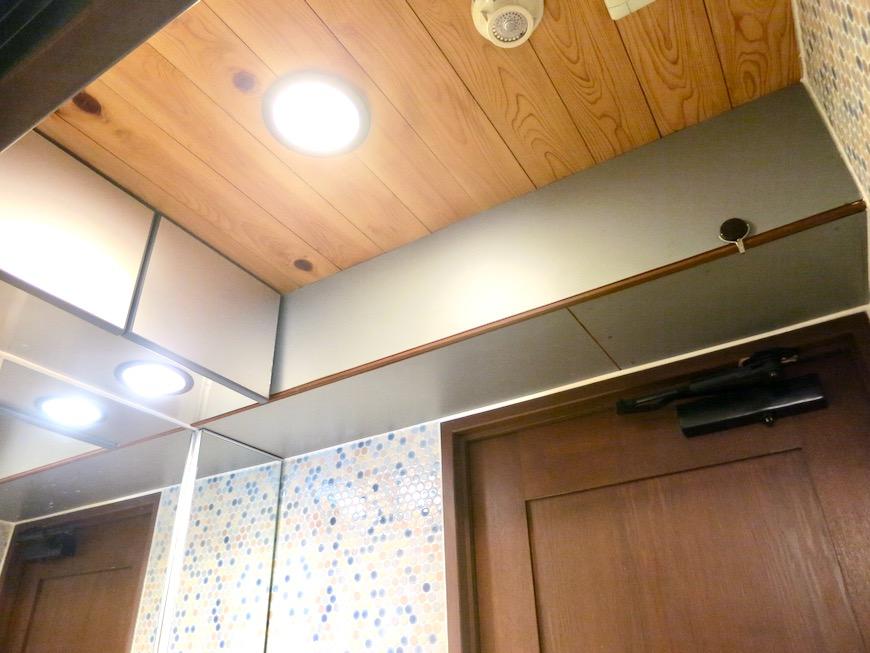 2F サニタリー&バスルーム。ヴィンテージ3Fメゾネット2000HOUSE4B13