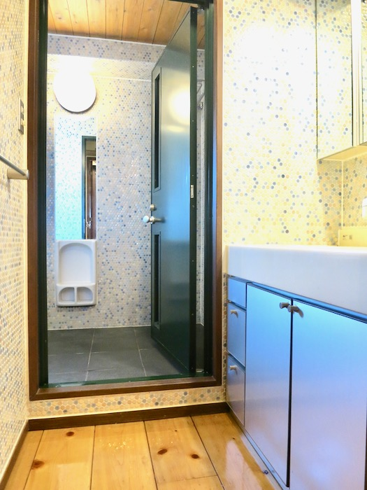 2F サニタリー&バスルーム。ヴィンテージ3Fメゾネット2000HOUSE4B0