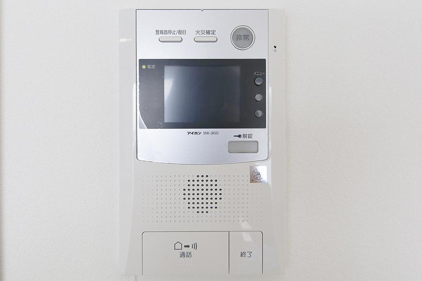 【ポルタニグラ大須】1101号室_LDK_リビング_TVモニタ付インターフォン_MG_8971