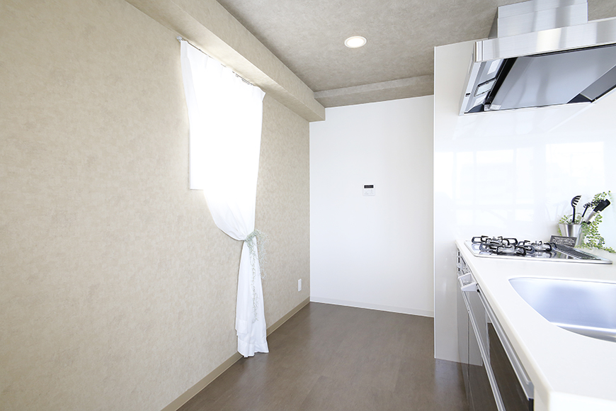 【ポルタニグラ大須】1101号室_LDK_キッチン周り_MG_8946