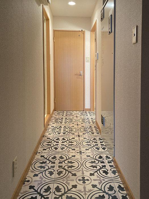 ヴェリエール・ドゥ・セ 701号室廊下