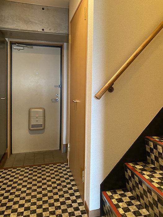 ヴェリエール・ドゥ・セ 902号室階段
