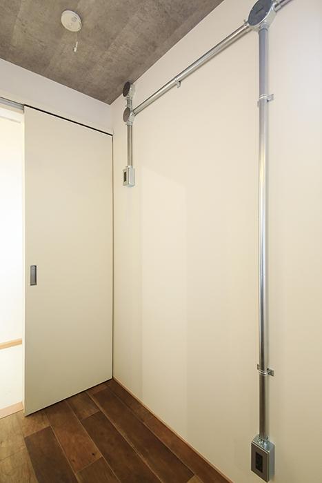 庄内通【コウノミBASE】102号室_キッチン周り_冷蔵庫置き場_MG_8522