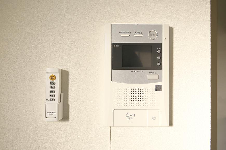 【ポルタニグラ大須】901号室_リビングスペース_セキュリティ_TVモニタ付インターフォン_MG_3661