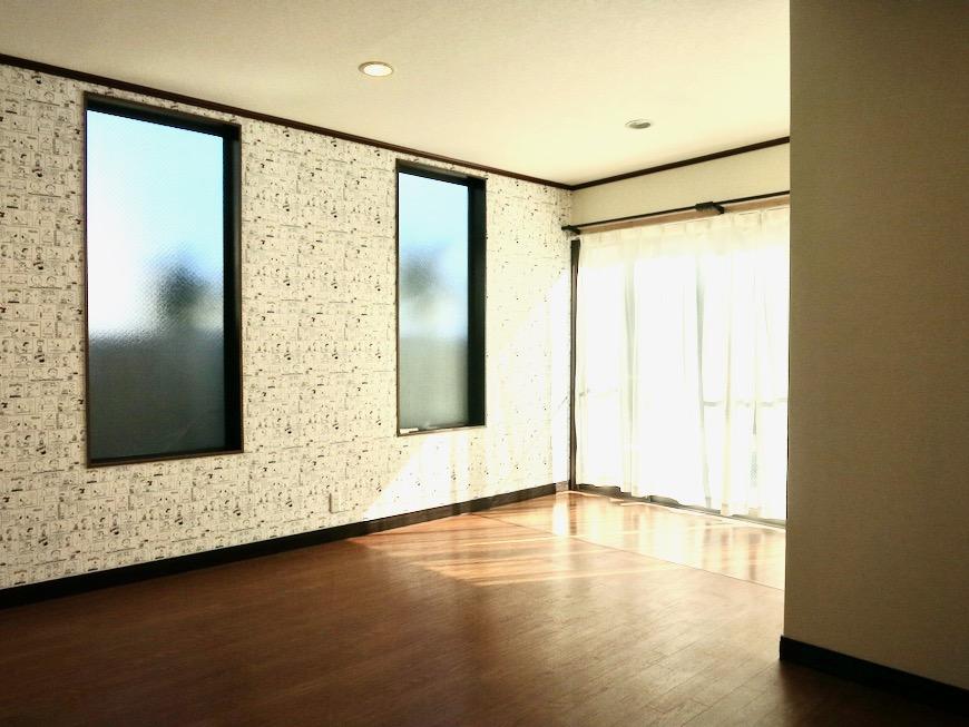 1F 和洋折衷 広い和室とチャーリーブラウン オフィス・ペット可 城主町貸家5