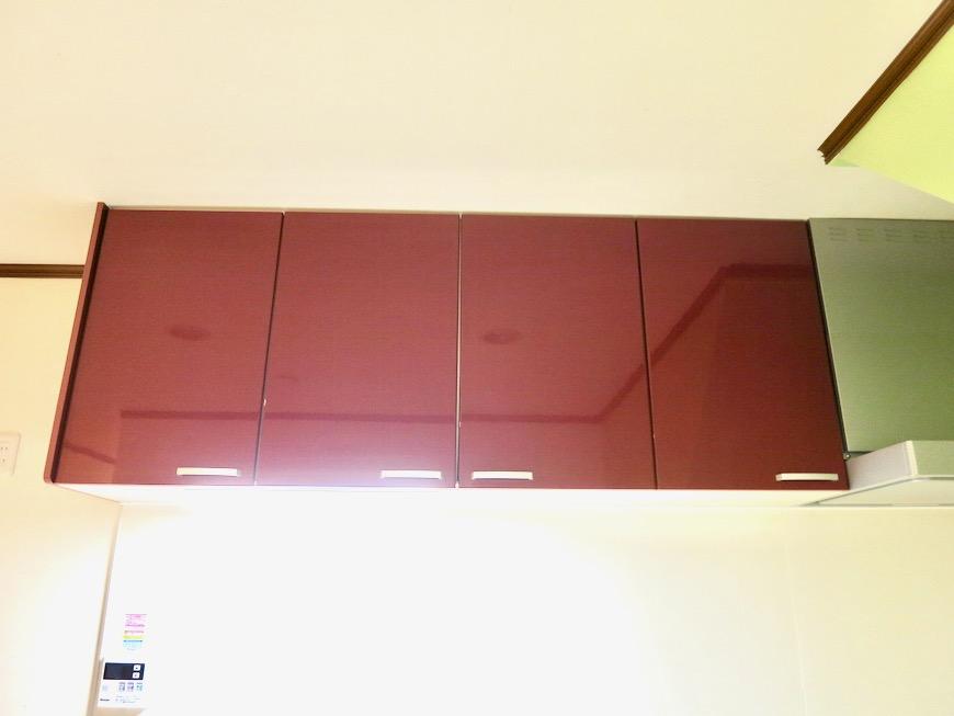 1F キッチン 和洋折衷 広い和室とチャーリーブラウン オフィス・ペット可 城主町貸家10