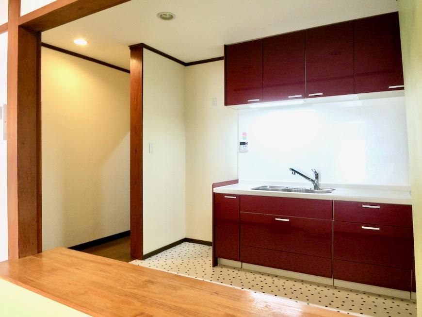 1F 和洋折衷 広い和室とチャーリーブラウン オフィス・ペット可 城主町貸家15