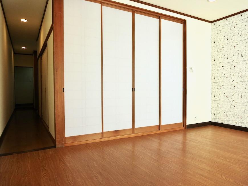 1F 和洋折衷 広い和室とチャーリーブラウン オフィス・ペット可 城主町貸家0